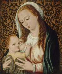 madonna mit kind vor einer tapisserie by anonymous-dutch (16)