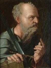 der apostel paulus by jan van scorel