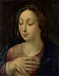 die madonna im gebet by anonymous-flemish (17)