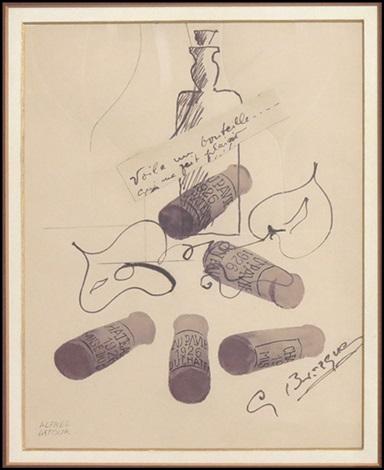 voila un bouteille by georges braque