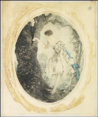hiding place by louis icart