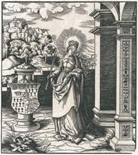 die heilige ursula (from die heiligen des hauses habsburg) by leonhard beck