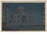each from the series india and southeast asia (+ 3 others; set of 4) by hiroshi yoshida