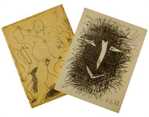 picasso lithographe iii picasso lithographe iv 2 vols by fernand mourlot w4 works by pablo picasso