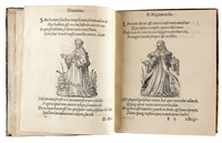 cleri totius romanae ecclesiae subiecti, seu, pontificiorum ordinum omnium utriusque sexus, habitus... delineatur (bk w/103 works, 4to) by jost amman