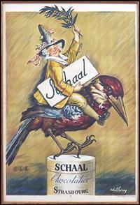 schaal chocolatier strassbourg by jules-abel faivre