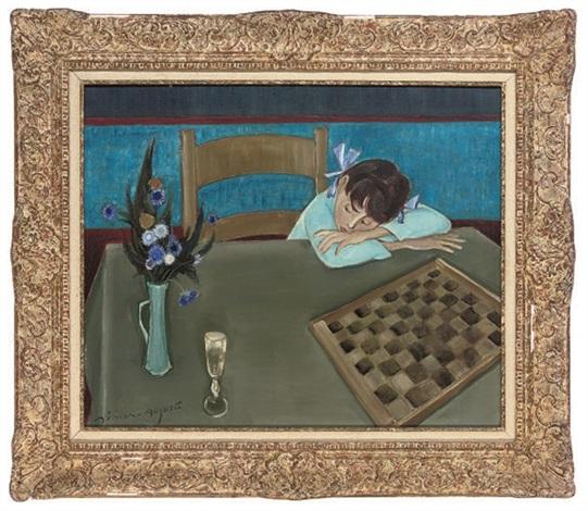 the checkers game by simon simon auguste