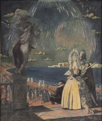 venetian carnival by nikolai vladimirovich remizov