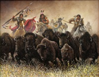 herding the buffalo by jim abeita