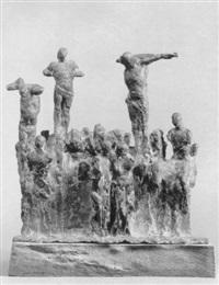 kreuzigungsgruppe by joachim dunkel