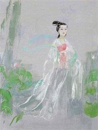 仕女图 by liu wenjin