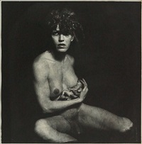androgyny breastfeeding a fetus by joel-peter witkin