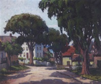 a street in rockport, mass. by nellie evelyn ziegler
