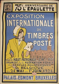 exposition internationale de timbres poste by h. leroux