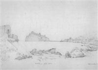citadelle - stadt ischia by friedrich eugen peipers
