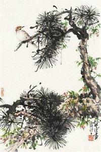 腊梅小鸟 by xu chunyuan