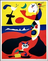 summer (l'ete) by joan miró