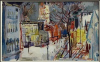 street scene by francis chapin