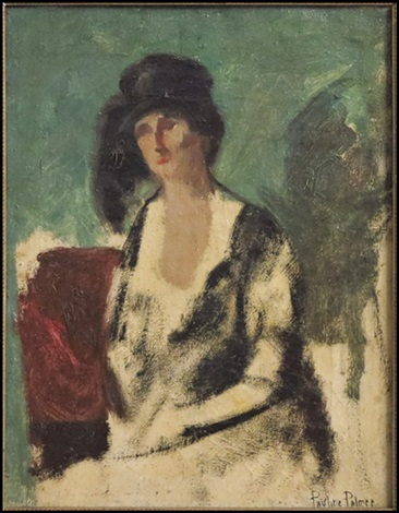 portrait of a lady by pauline palmer