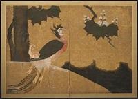 phoenix and paulownia by japanese school (18)