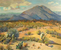 arizona desert by augustus dunbier