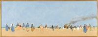 desert figures by frederick mcduff