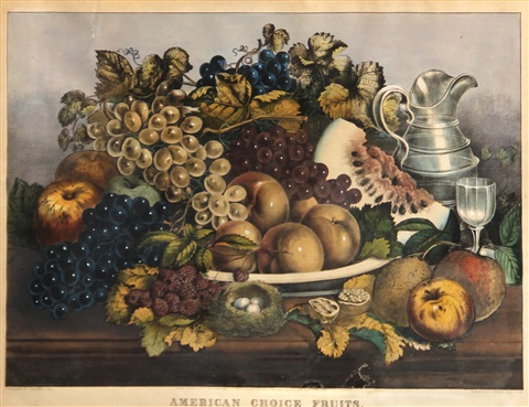 american choice fruits by currier ives publishers