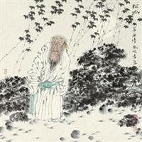 探幽 by ren huizhong