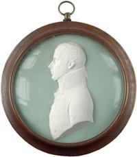friedrich wilhelm iii von preußen, brustbildnis im profil nach links by leonhard posch