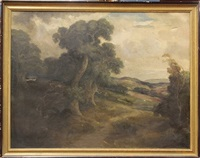 california landscape by herman (henry) gustavson