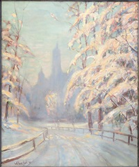 central park after the storm by bela de tirefort