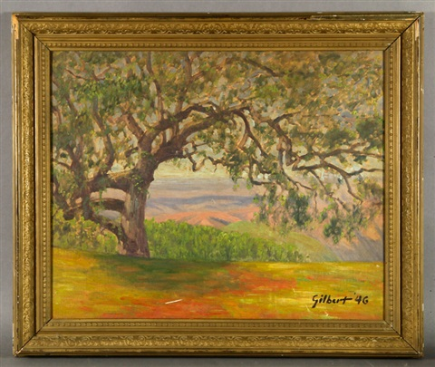 california oak tree by arthur hill gilbert