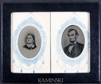 abraham lincoln and mary todd lincoln (pair) by geo ayer