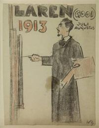 laren (gooi) 1913 by willy sluijter