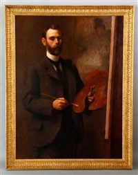 self portrait of the artist by dewitt mcclellan lockman