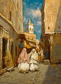 rue koleher, algeria by addison thomas millar