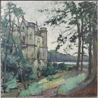 la chateau de la reine blanche by constantine kluge