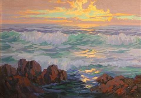 sunset carmel by carl sammons