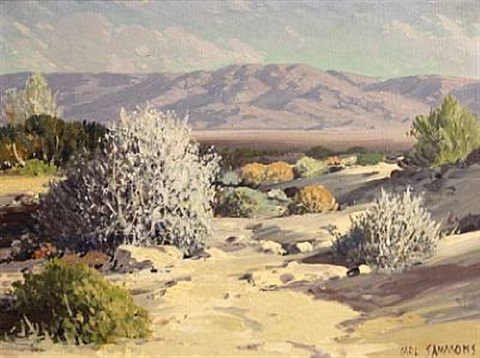 desert lavender palm spring california by carl sammons