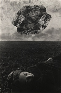 magritte's touchstone by jerry uelsmann