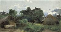 hütten in agomé palimé (kpalimé) in togo by ferdinand lindner