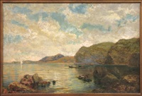 sorrento shoreline by george herbert mccord