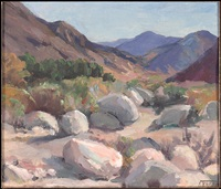 scene with rocks by florence upson young