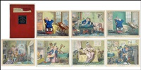 troubles of life (portfolio w/7 works) by george cruikshank
