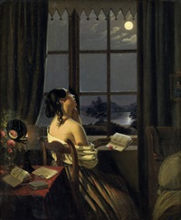 die sentimentale by johann peter hasenclever