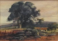 ranch landscape by percy gray