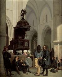 die sonntagspredigt by antoine-emile renouard