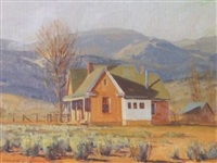 november homestead by g. russell case