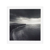 the cob, lyme regis, dorset, england by michael kenna