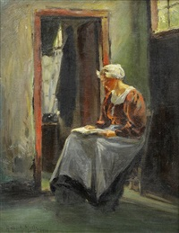 tijmenje reading (north holland) by anna althea hills